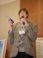 CSE's Jon Froehlich presents Hydrosense