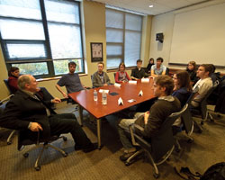 Undergraduate student roundtable