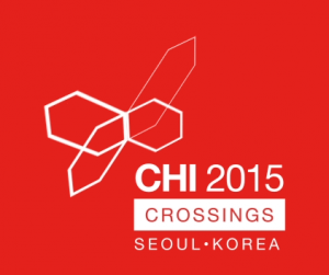 CHI 2015 conference logo