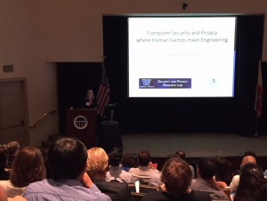 Franzi Roesner at the NAE Frontiers of Engineering Symposium