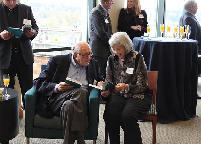 Bill Gates Sr and Ruth Gerberding
