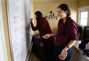 Aishwarya Mandyam and Karishma Mandyam
