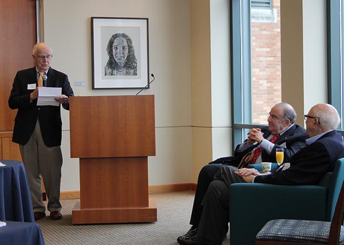 Dan Evans tribute to Bill Gates Sr.