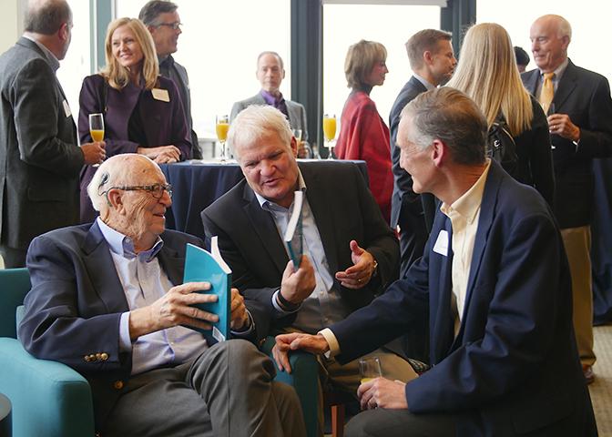 Bill Gates Sr., Marty Smith, Ed Lazowska