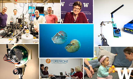 Best of UW 2015 image collage