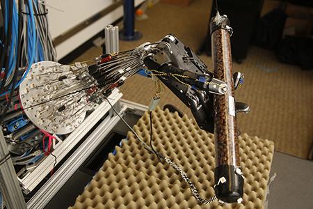 UW CSE's dexterous robot hand