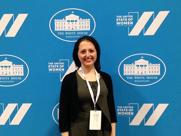 UW CSE's Anat Caspi, changemaker, at the United States of