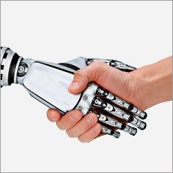 Human-robot handshake