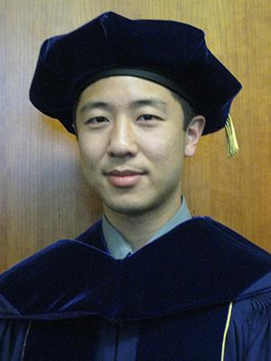 Jonathan Ko at graduation
