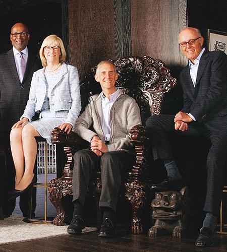 Norm Rice, Patricia Kuhl, Ed Lazowska, Jeff Brotman