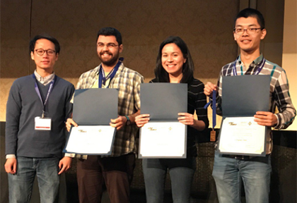 ACM Student Research Competition honorees