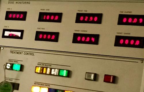 CNTS control panel