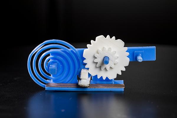 3-D printed gears