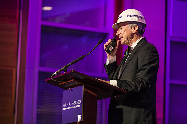 Hank Levy in hardhat