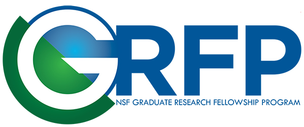 NSF GRFP logo in blue and green