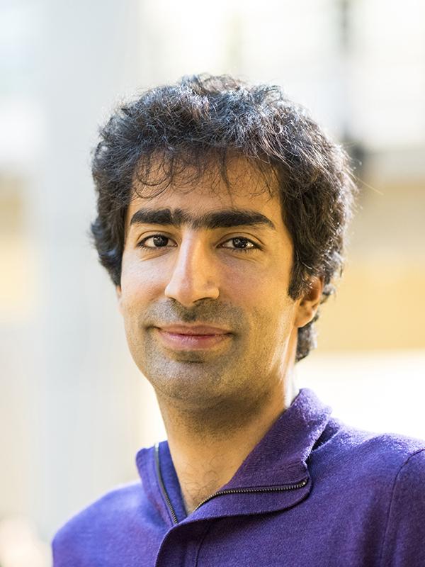 Portrait of Shayan Oveis Gharan