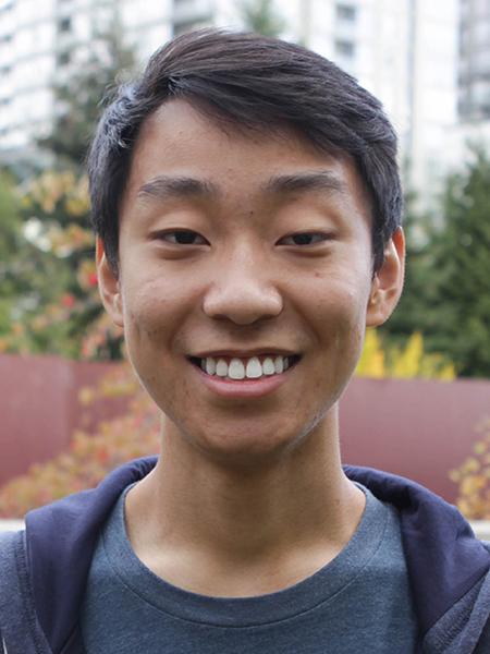 Nelson Liu smiling
