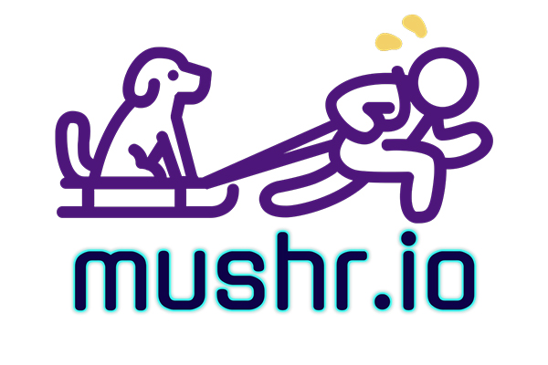 mushr.io logo and link