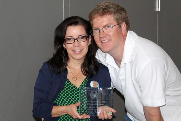 Melissa Westbrook and Scott Hauck