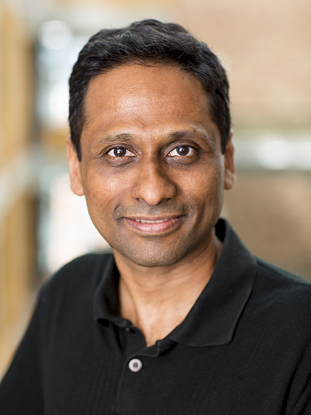 Portrait of Arvind Krishnamurthy