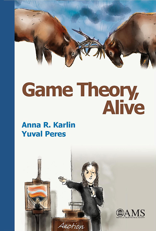 Cover of Game Theory, Alive!