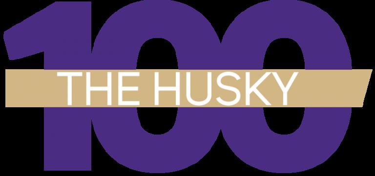 Husky 100 banner
