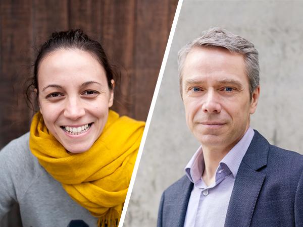 Portraits of Maya Cakmak and Dieter Fox